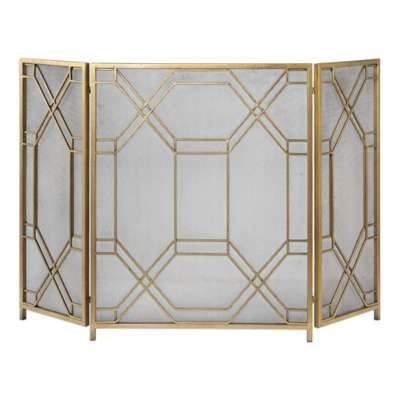 Picture for Rosen Fireplace Screen by Uttermost