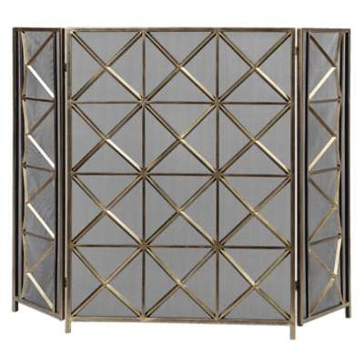 Picture for Akiva Fireplace Screen by Uttermost