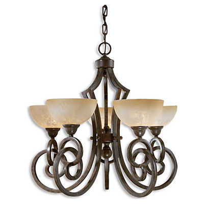 Picture of Legato 5-Light Scavo Glass Chandelier