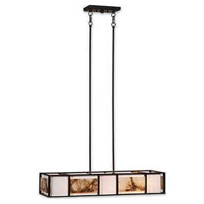 Picture of Quarry 4-Light Oil Rubbed Bronze Chandelier