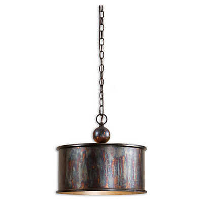 Picture of Albiano 1 Light Oxidized Bronze Pendant