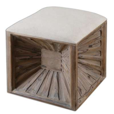 Picture for Jia Ottoman by Uttermost