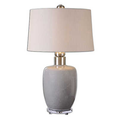 Picture of Ovidius Gray Glaze Lamp