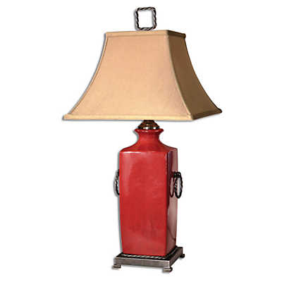 Picture of Rocco Red Table Lamp