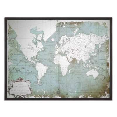 Picture for Mirrored World Map by Uttermost