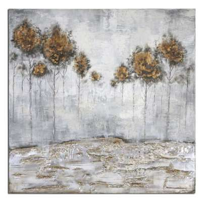 Picture for Iced Trees Wall Art by Uttermost