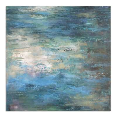 Picture for Splish Splash Wall Art by Uttermost