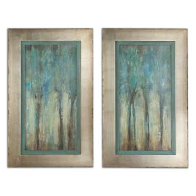 Picture for Whispering Wind Wall Art, Set of 2 by Uttermost