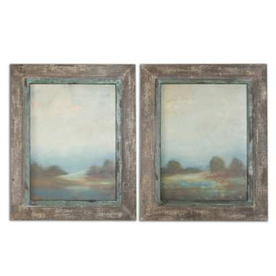 Picture for Morning Vistas Wall Art, Set of 2 by Uttermost