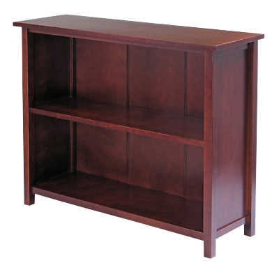 Picture of Fort Wood Wide Bookcase by Smart Furniture