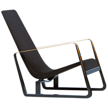 VICITE-BLACK FABRIC: Customized Item of Cite Chair, Black Frame by Vitra (VICITE)
