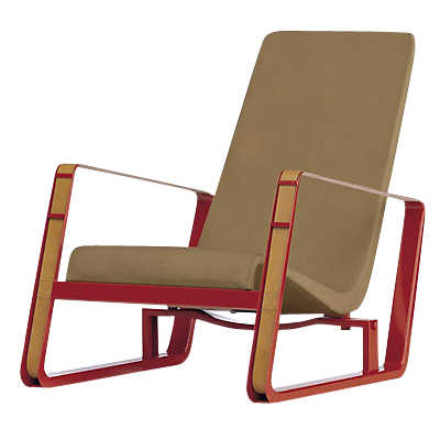 Picture of Cite Chair, Red Frame
