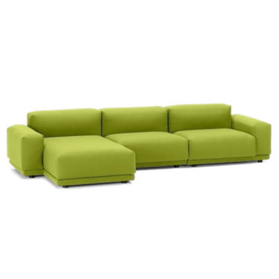 Picture of Place Sofa Three Seater with Chaise by Vitra