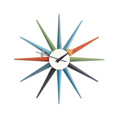 Picture of Nelson Sunburst Clock by Vitra