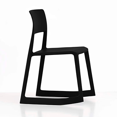 VITIPTON-ICE GREY: Customized Item of Tip Ton Chair by Vitra (VITIPTON)