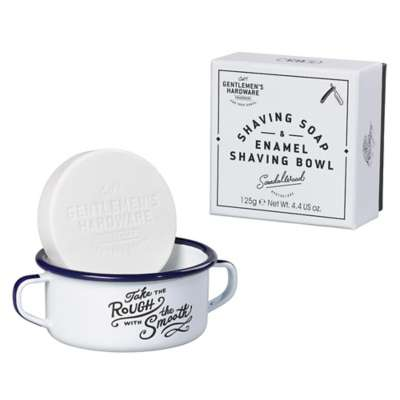 Picture for Shaving Soap and Enamel Shaving Bowl by Wild & Wolf