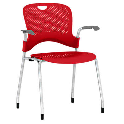 Picture of Caper Stacking Chair, Molded Seat by Herman Miller