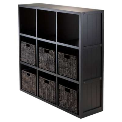 Picture for Stuart 3 x 3 Cube Shelf with 6 Baskets