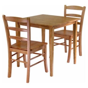 WW3943302-LTOAK: Customized Item of Hastings 3-Piece Dining Set (WW3943302)