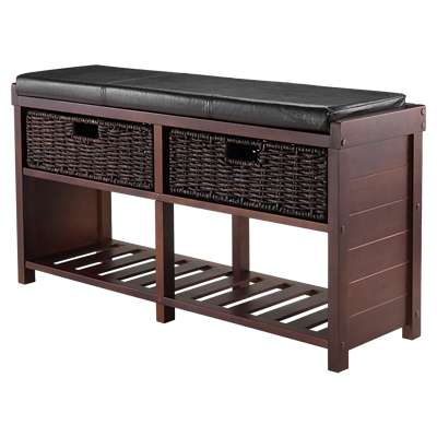 Picture for Pearson Cushion Bench with Baskets