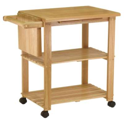 Picture for Kitchen Cart with Cutting Board and Shelves