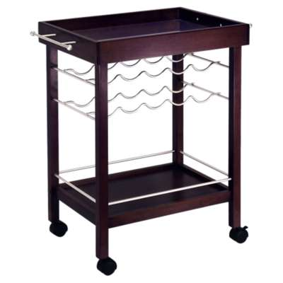 Picture for Bar Cart with Mirror Top