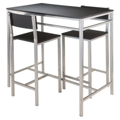 Picture of Andre 3-Piece High Table with 2 High Back Stools