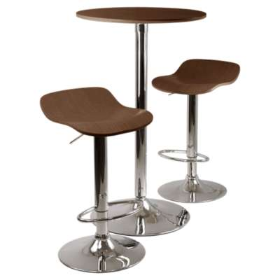 Picture for Ludlow 3-Piece Round Pub Table Set