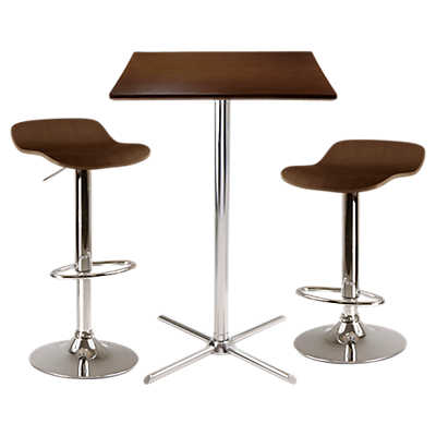 Picture of Ludlow 3-Piece Square Pub Table Set