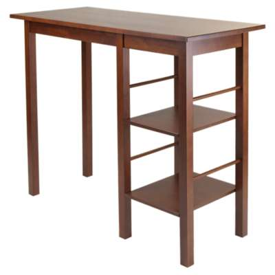 Picture for Carrie Breakfast Table with 2 Side Shelves