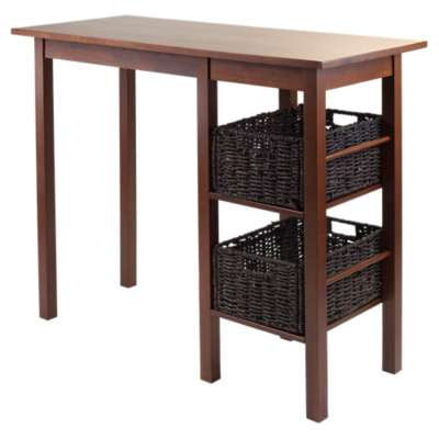 Picture for Carrie 3-Piece Breakfast Table with 2 Baskets