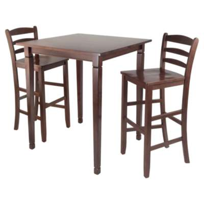 Picture for Stockton 3-Piece High Table Set with Ladder Back Stools