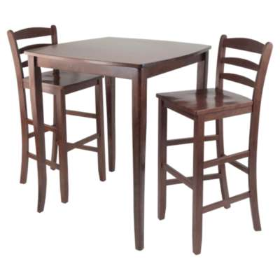 Picture for Hendricks 3-Piece High Table Set with Ladder Back Stools
