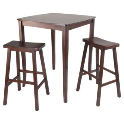 Picture for Hendricks 3-Piece High Table Set with Saddle Stools