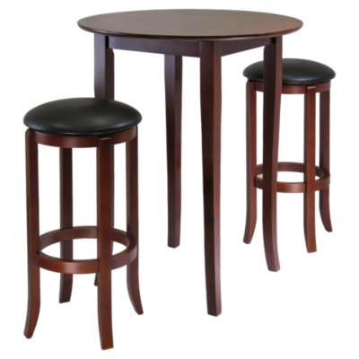 Picture for Dominique 3-Piece High Table Set with Round Stools