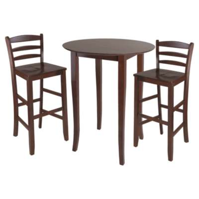 Picture for Dominique 3-Piece High Table Set with Ladder Back Stools