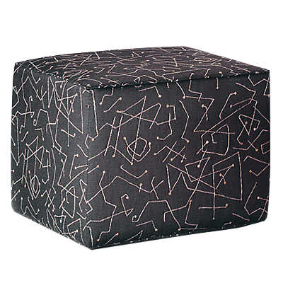 Picture of Large Cube Ottoman by Younger