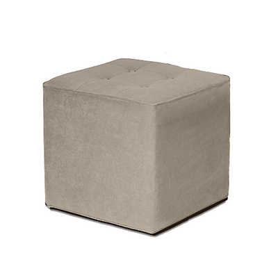 Picture of Tufted Cube Ottoman by Younger