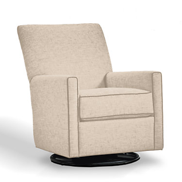 YF1275-QS-2710-YLUX: Customized Item of Lucy Swivel Glider Chair by Younger (YF1275)