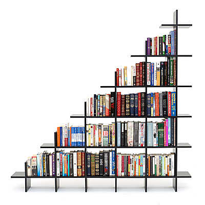 Staircase Shelving trilogy staircase shelf | smart furniture