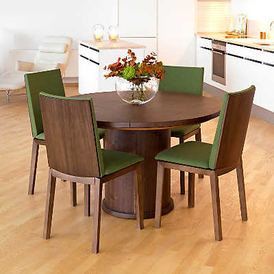 skovby round expanding dining table sm 32 | smart furniture
