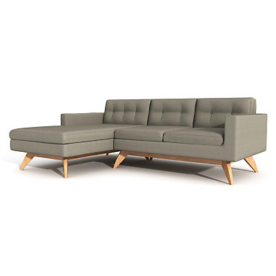 Luna 90in Sofa With Chaise By Truemodern Smart Furniture