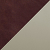 Request Free Oxblood Leather with Putty Legs Swatch for the Jumbo Daybench by Blu Dot