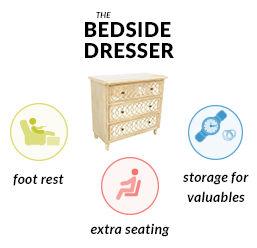 Bedside Dresser Mobile