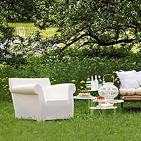 bubble club chair by philippe starck kartell smart furniture