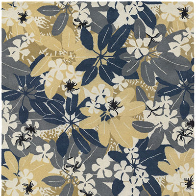 2104 for Alfred Shaheen Floral Rug (ALSHAHEEN)