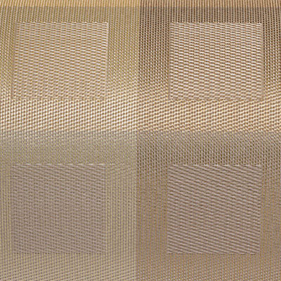 Gold for Engineered Squares Pattern Placemat (CHPMES)