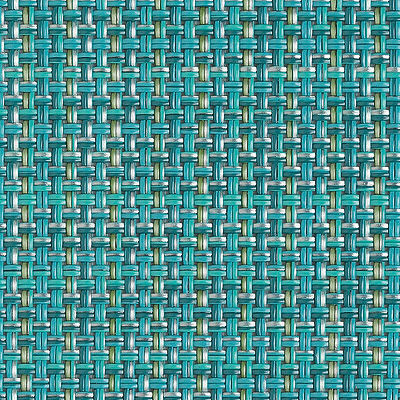 Turquoise for Minibasketweave Pattern Placemat (CHRTMBAS)