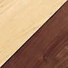 Request Free Maple with Walnut Base Swatch for the SoHo Bedside Table by Copeland Furniture