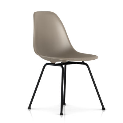 dsx479JE8: Customized Item of Eames Molded Plastic Side Chair with 4 Leg Base by Herman Miller (dsx)